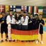 Kadetten EM 2015 Team Medaillen